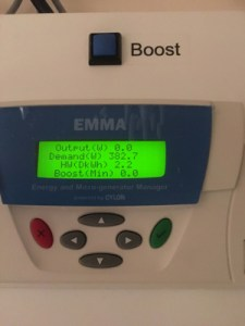 EMMA unit usage before 2300
