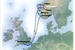 Aurora May16 Norway Map