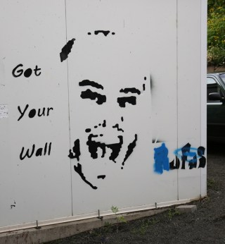 Street art in Akureyri : Got your wall
