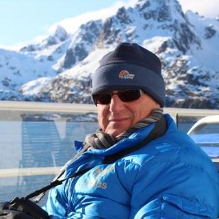 Enjoying the sun on the Hurtigruten Coastal Voyage