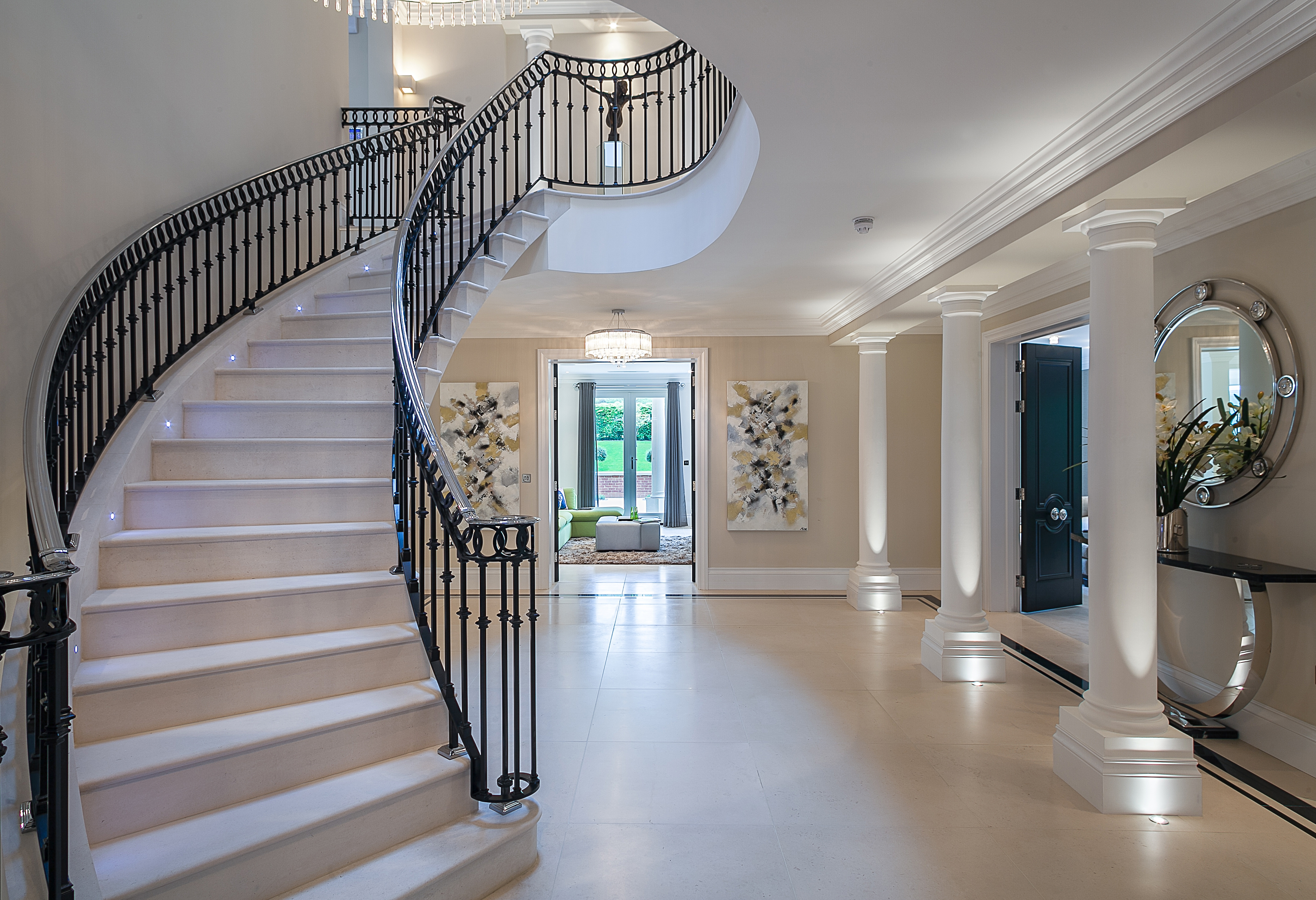 Black Granite A Brief History Ian Knapper | Black Granite Staircase Designs | India Staircase | Contemporary | Italian Marble Step | Double Staircase | Wood Girl