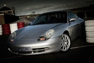 Porsche at Croft Autodrome
