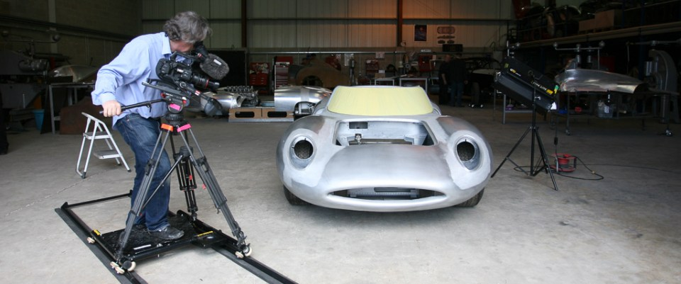 Film-and-Photo-Shoot-Production-Stills-9, Neville Swales' Jaguar XJ13 recreation