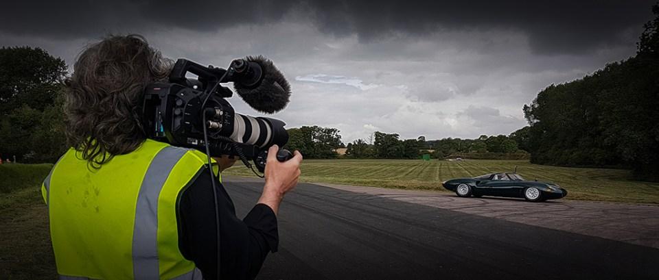 20160809_114829_024_01, Me filming Neville Swales' Jaguar XJ13 recreation