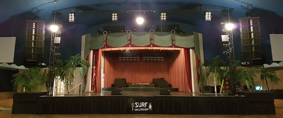 The famous stage