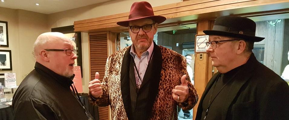John Cunningham ready to rock n roll