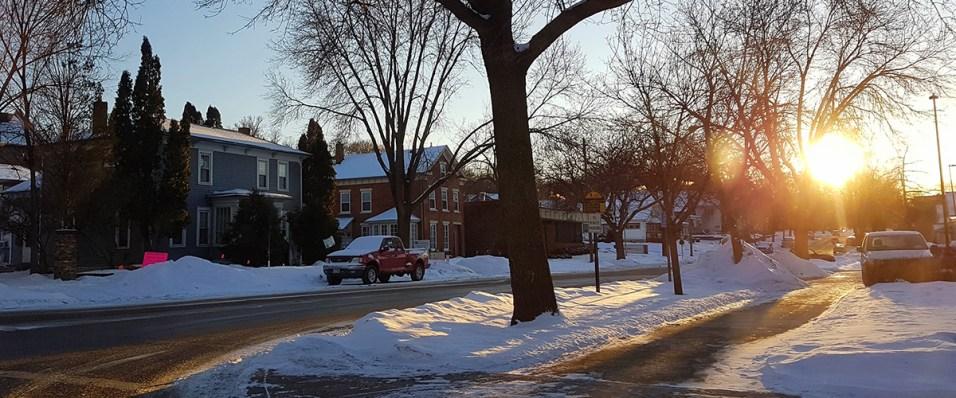 American street scene, Redwing