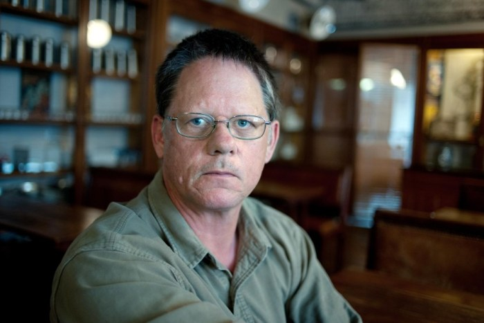 William T. Vollmann. Image filched from Welt.de.