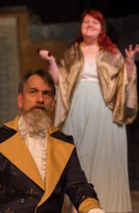 Thomas Heppler as Dr. Faustus with Collette Hagen at The Eternal Feminine