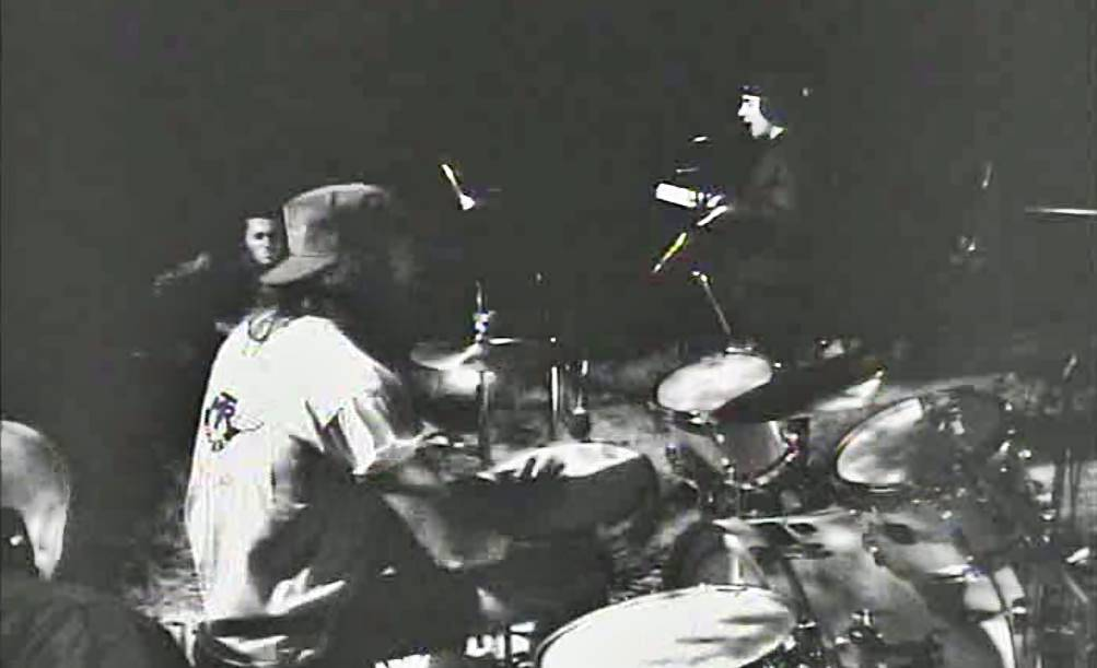Chad Smith playing Gretsch drums