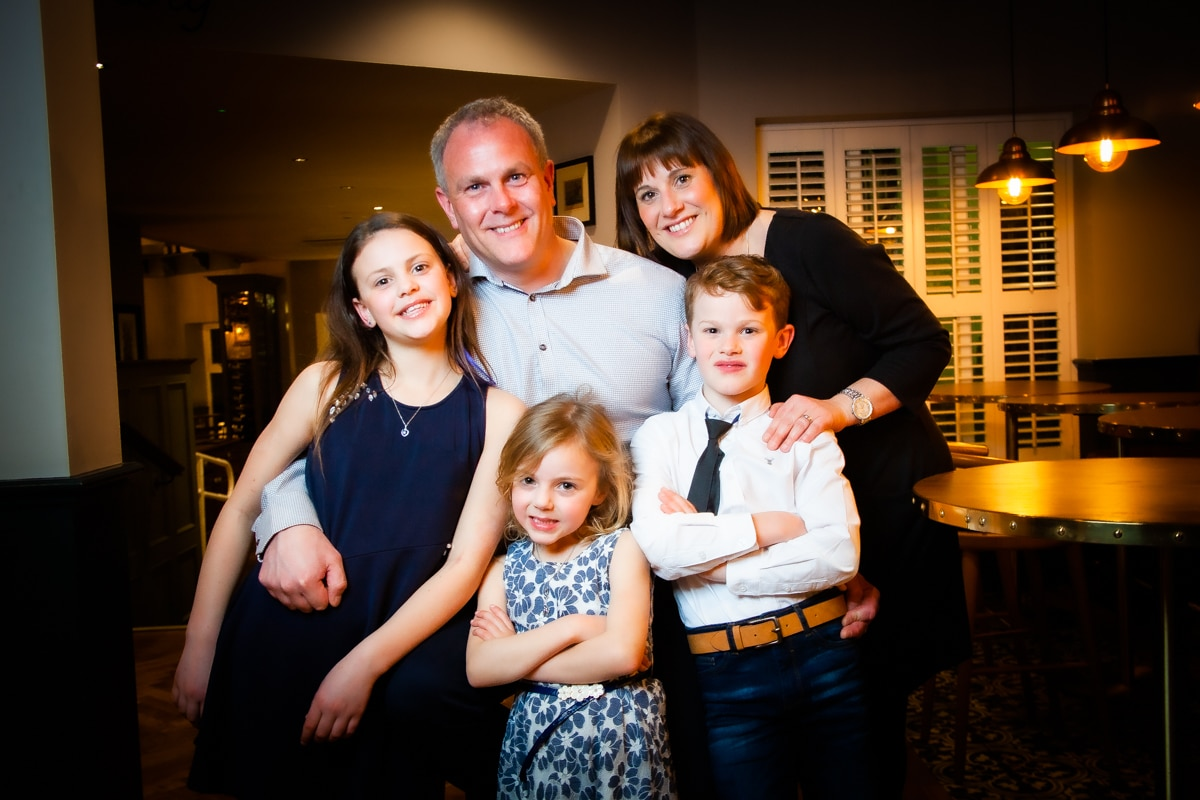 Ian Robinson Photography Studio Family Portraits Photographers in Trafford