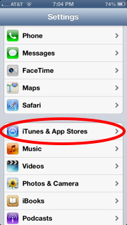 Prevent your kids from purchasing apps on your iphone ianswerguy itunes app stores apple id ccuart Image collections