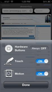 iPhone GA Options