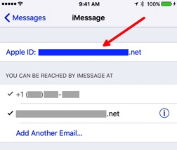 Apple ID for iMessage