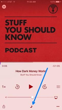 Podcast Sleep Timer