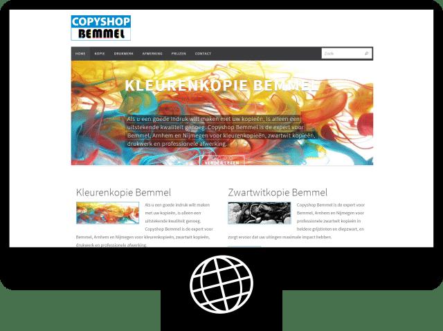 Copyshop Bemmel – website