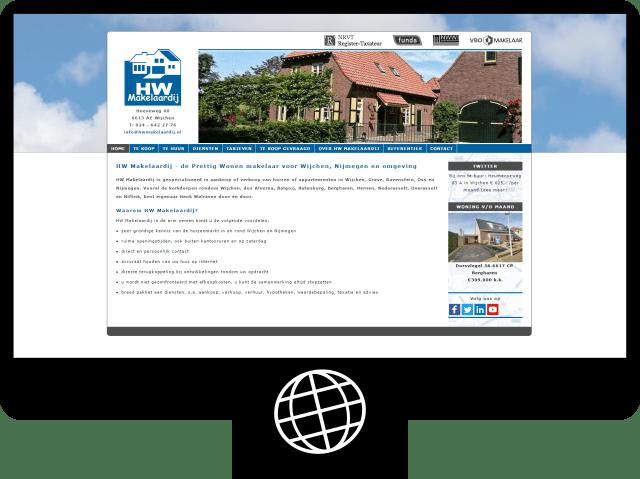 HW Makelaardij – website