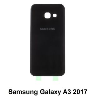 Samsung Galaxy A3 2017 Battery Back Cover BLACK