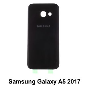 Samsung Galaxy A5 2017 Battery Back Cover Glass BLACK