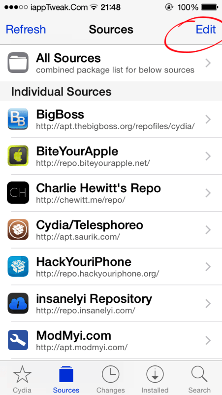 best 2015 cydia repos/sources
