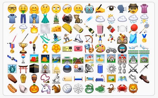iOS 9.1 emoji iapptweak