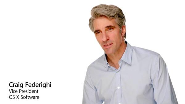 originalApple's Senior Vice President of Software Engineering-Craig Federighi