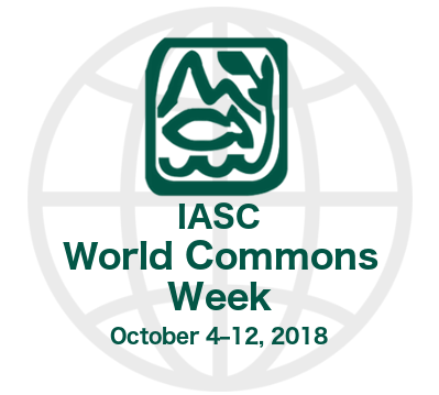 IASC World Commons Week (October 4-12, 2018 – worldwide) – The