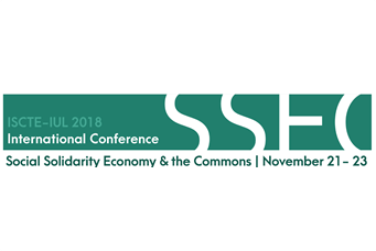 International Conference 'Social Solidarity Economy and the Commons: Envisioning Sustainable and Post-capitalist Futures' (Lisbon, November 21-23, 2018)