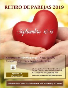 Retiro de Parejas @ Embassy Suites Hotel | Piscataway Township | New Jersey | United States