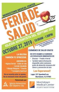 Feria de Salud @ Iglesia Adventista del Séptimo Día | Morristown | New Jersey | United States