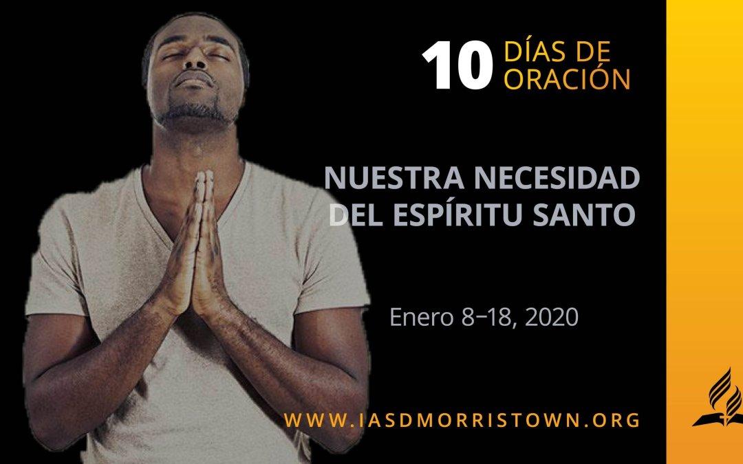DÍA 1 – NUESTRA NECESIDAD DEL ESPÍRITU SANTO
