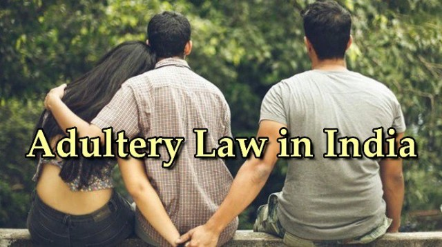 Adultery law in India - UPSC IAS