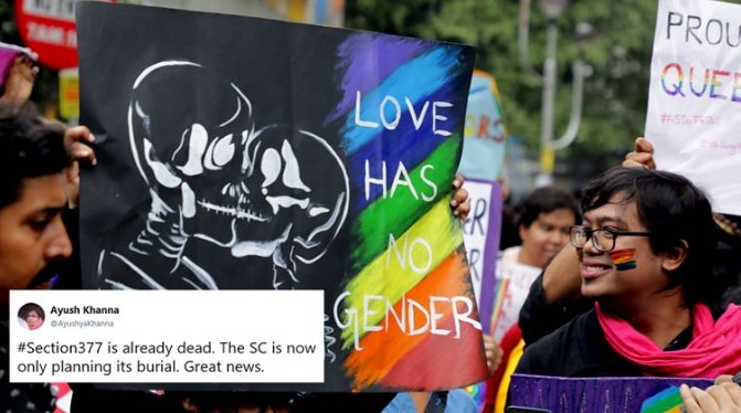 SC Verdict on Section 377 – The restoration of right to free expression and dignity