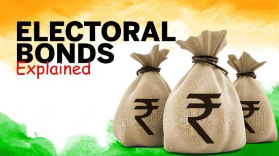 Electoral Bonds scheme - features, merits, demerits upsc ias