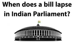 5 Simple Rules to Remember the Lapsing Bills in Indian Parliament