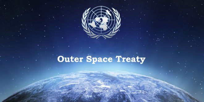The Outer Space Treaty & the Weaponization of Space