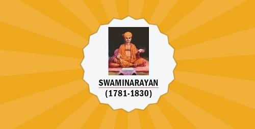 Swaminarayan/Sahajanand Swami – Important Personalities of Modern India