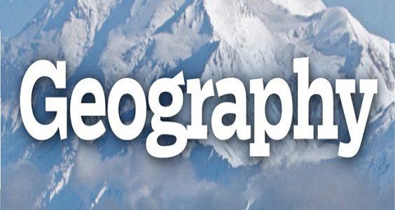 Geography (Optional) Mindmap Notes