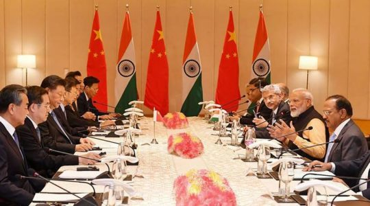 Five-Point Action Plan on India-China Border Standoff