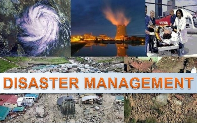 Disasters and its Management Mindmap Notes