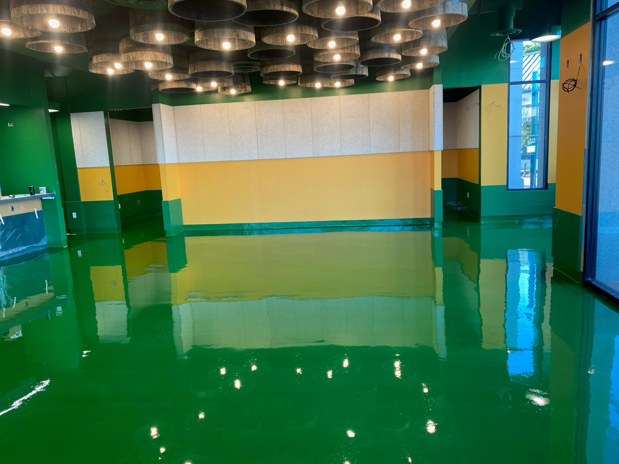 concrete floor coatings, epoxy floor coatings, Industrial Applications Inc, usda approved coatings, commerical kitchen flooring, restaurant epoxy flooring, TeamIA