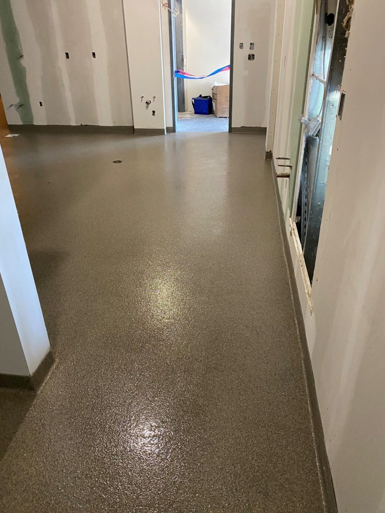 commercial kitchen, USDA approved coatings, seamless floors, concrete floor coatings, Industrial Applications Inc, IA30yrs
