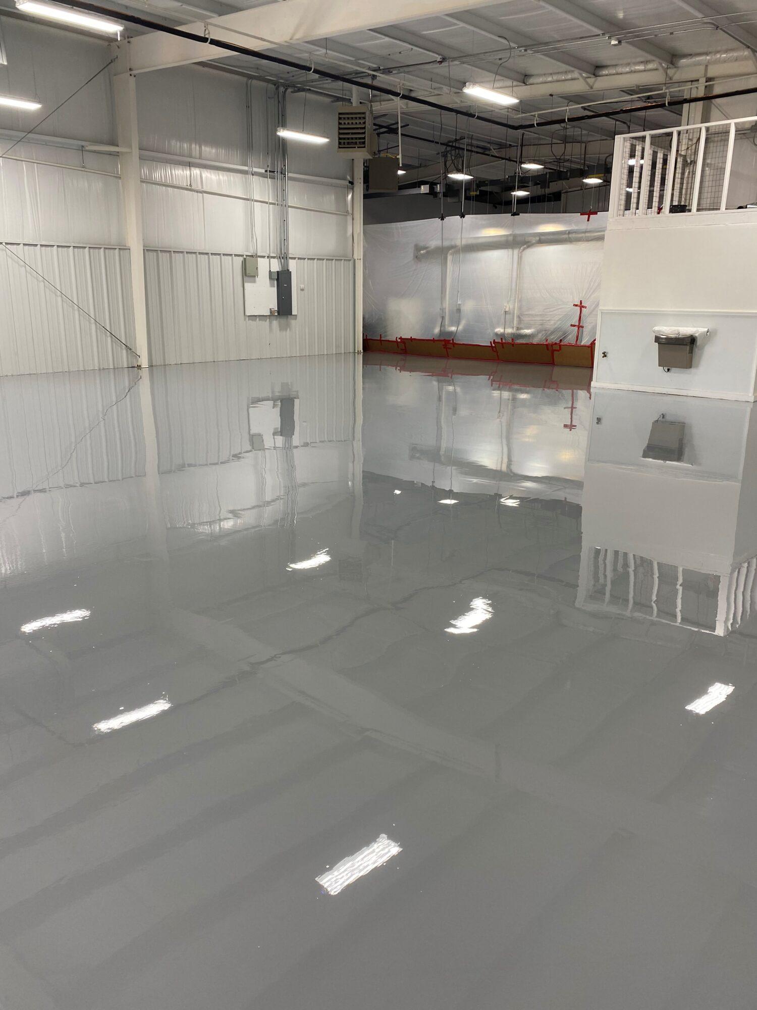concrete floor coatings;  epoxy floor coating; industrial concrete flooring; Industrial Applications, Inc.; epoxy coatings; Team IA