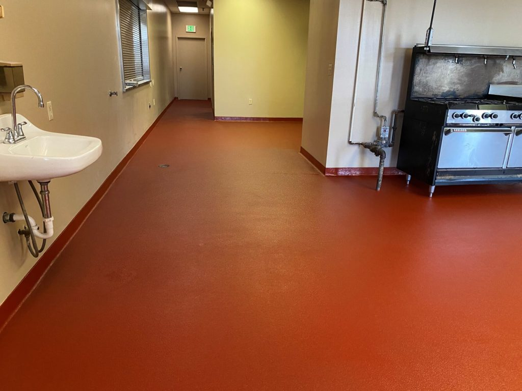 Epoxy Urethane, epoxy flooring, commercial kitchen, commercial kitchen flooring, epoxy floors MemphisTN, TeamIA, Industrial Applications Inc., IA30yrs, Memphis TN