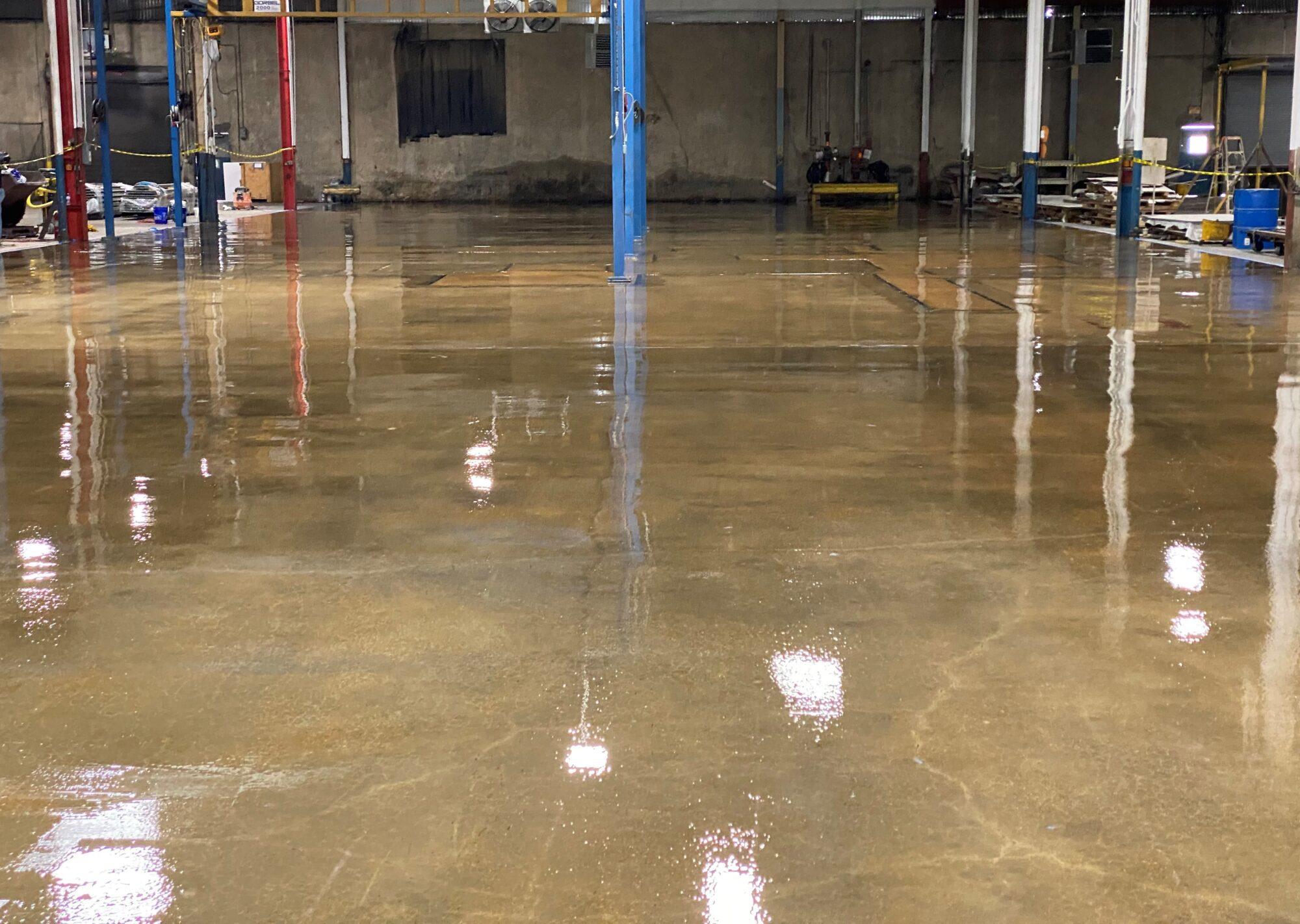 Epoxy flooring, epoxy floor coating, epoxy floor coating GrenadaTN, TeamIA, Industrial Applications Inc., IA32yrs, GrenadaTN