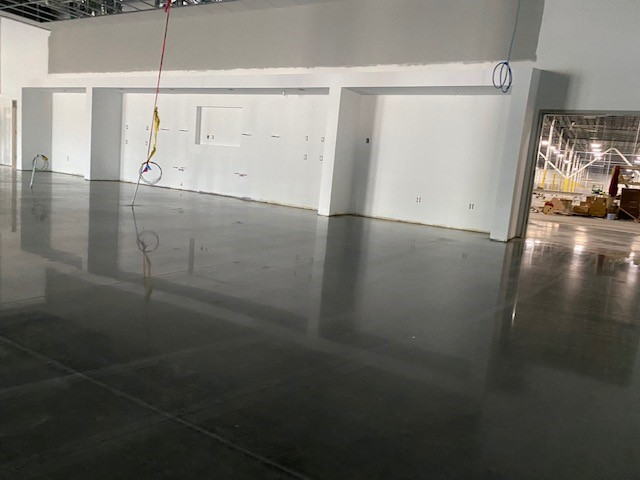 TeamIA, polish concrete, commercial concrete polishing, polished concrete, Industrial Applications Inc