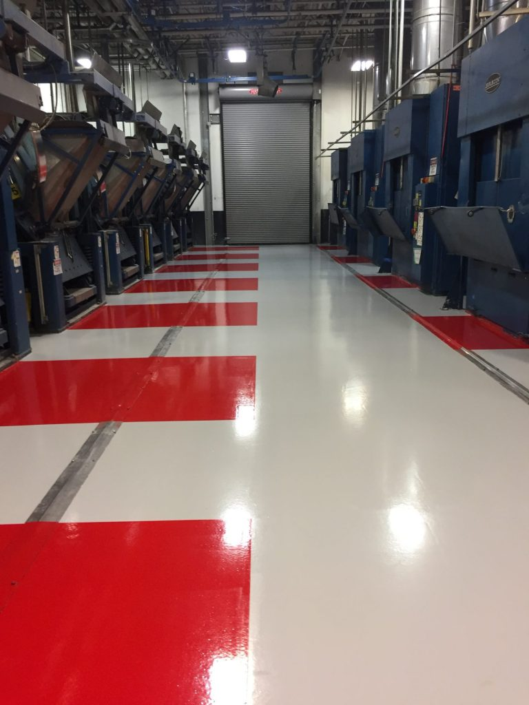 5S safety markings, epoxy floor coatings, safety markings, floor markings