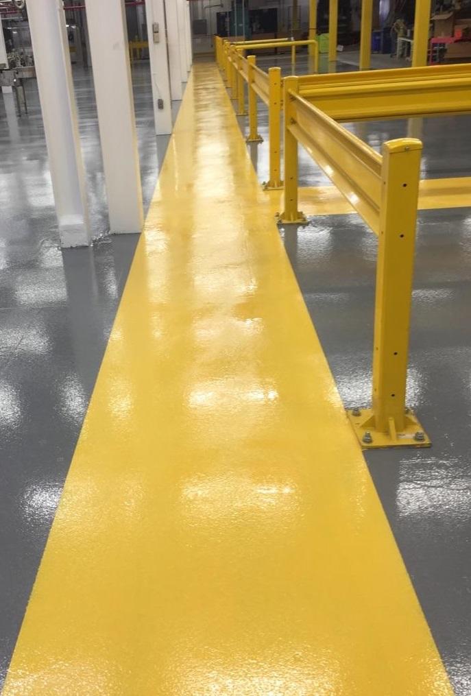 epoxy floor coatings, polyaspartic floor coatings, industrial floor coatings