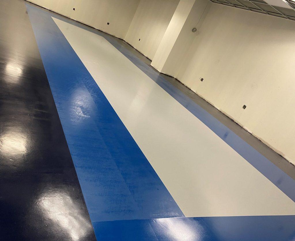 Medical technology, Epoxy designate key areas, epoxy floor coatings, epoxy coating, industrial concrete floors, Industrial Applications Inc., medical manufacturing flooring