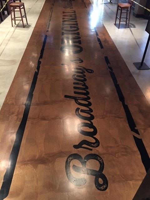 fast curing epoxy, food and beverage flooring, bar flooring, restaurant flooring